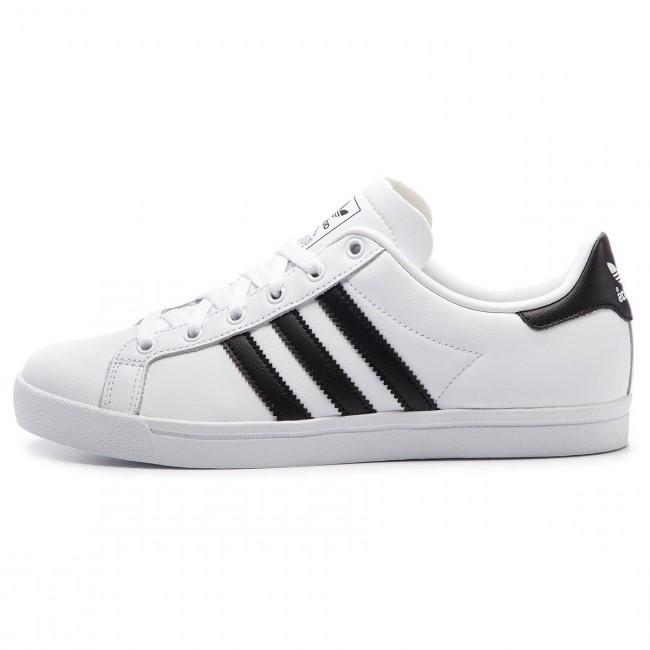 ADIDAS Unisex Schuhe Coast Star White / Black