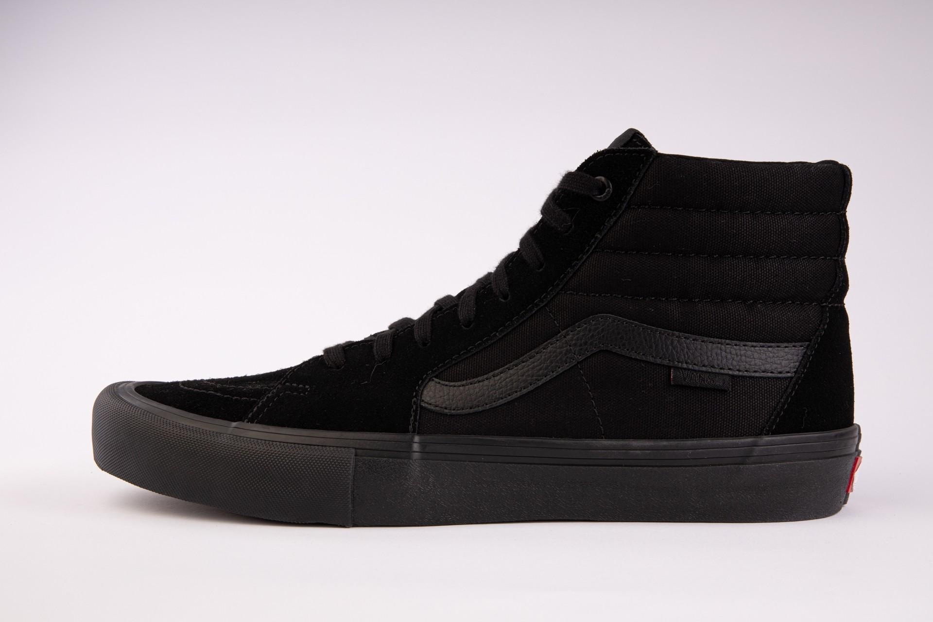 VANS Unisex Schuhe Sk8-Hi Pro Blackout