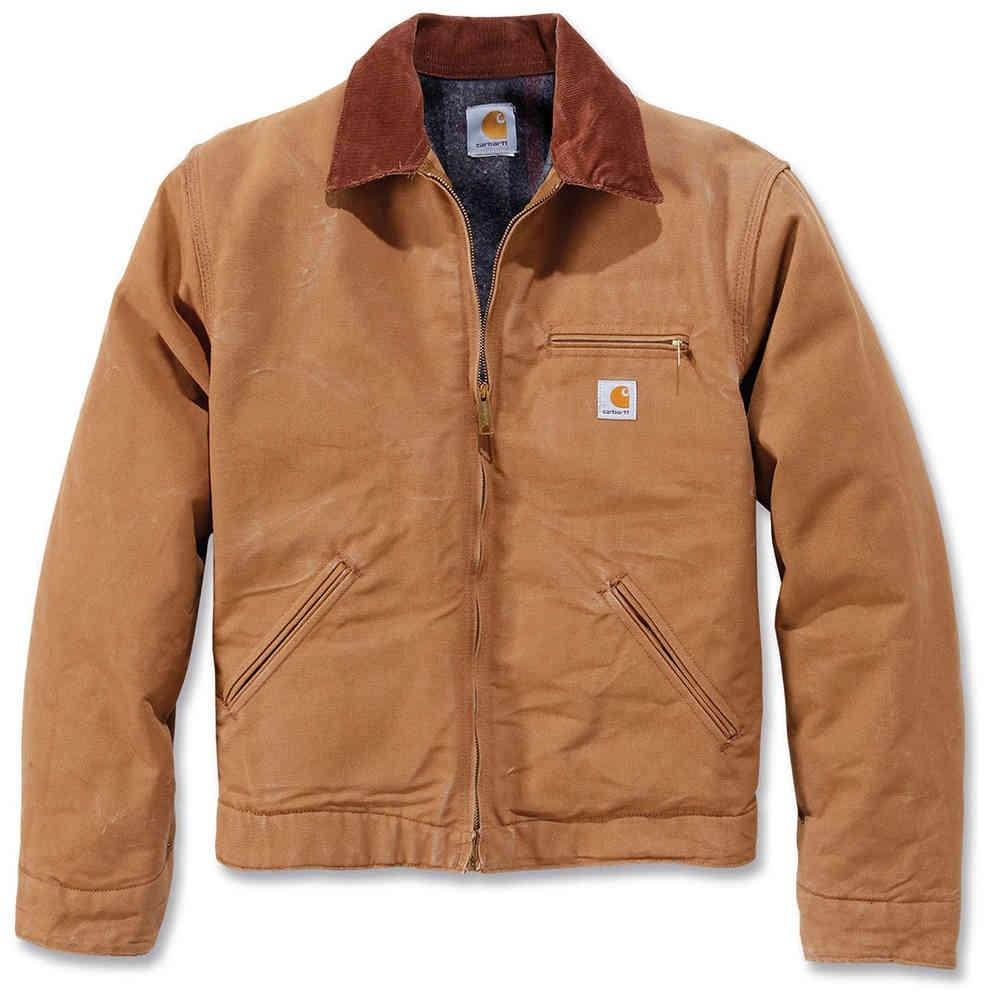 CARHARTT Herren Jacke Detroit Jacket Hamilton Brown / Black