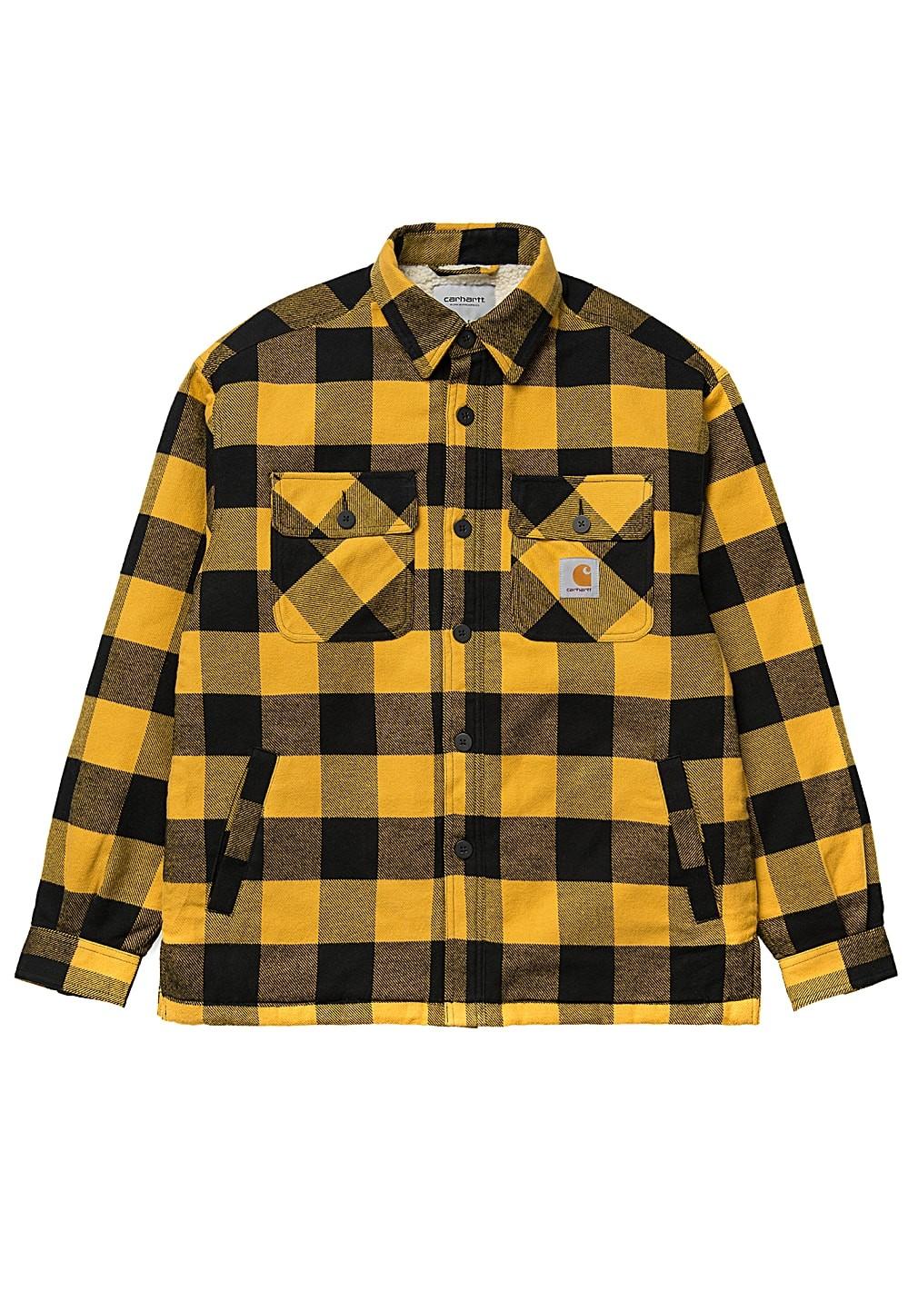 CARHARTT Herren Jacke Merton Shirt Jacket Merton Check / Colza