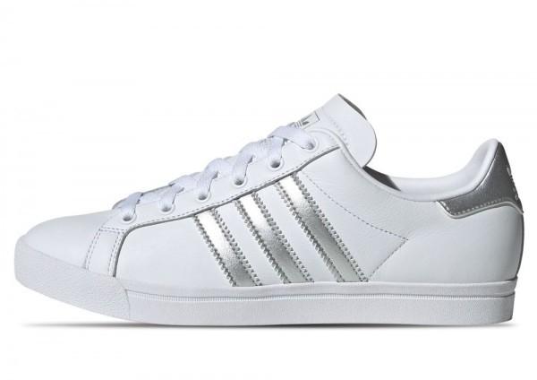 ADIDAS Damen Schuhe Coast Star W White / Silver