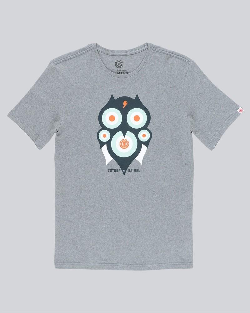 ELEMENT Herren T-Shirt Hoot Grey Heather