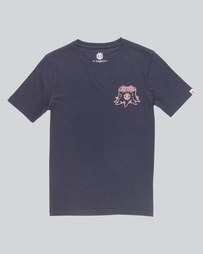 ELEMENT Herren T-Shirt Stump Eclipse Navy