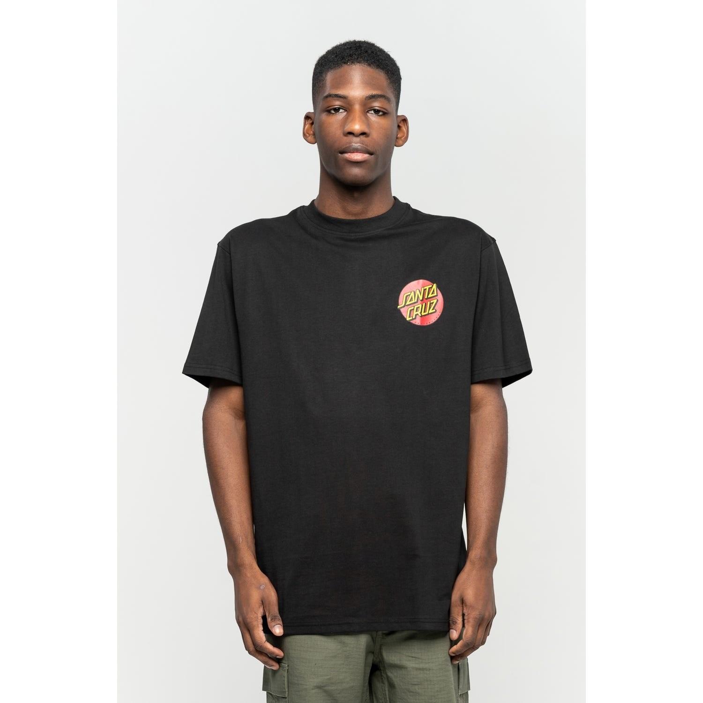 SANTA CRUZ Herren T-Shirt Classic Dot Chest T-Shirt Black