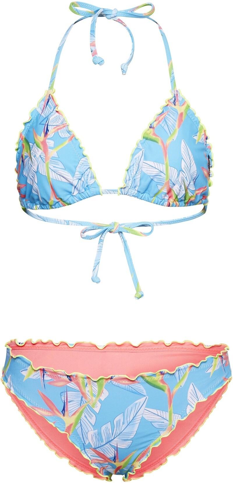 CHIEMSEE Damen Bikini Ivette Light Blue / White