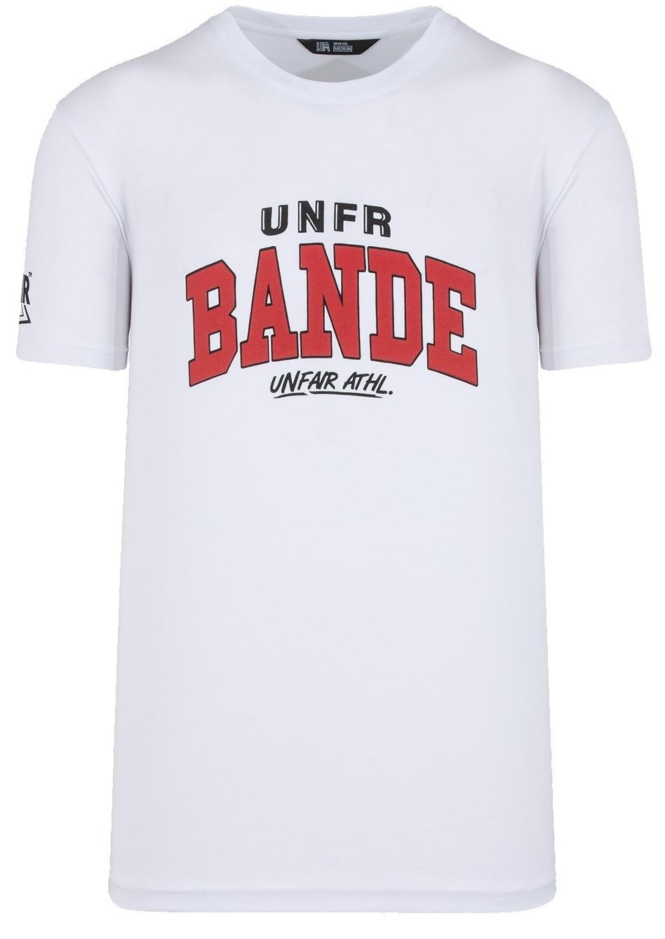 UNFAIR ATHLETICS Herren T-Shirt Unfair Bande White