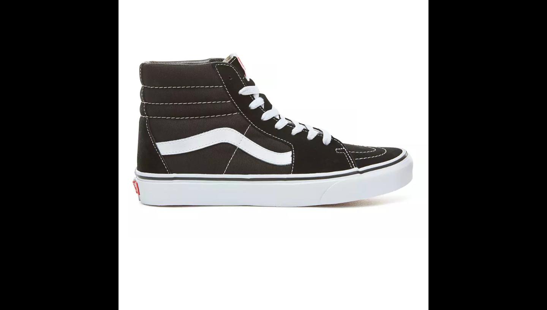 VANS Unisex Schuh SK8-HI Black / Black / White
