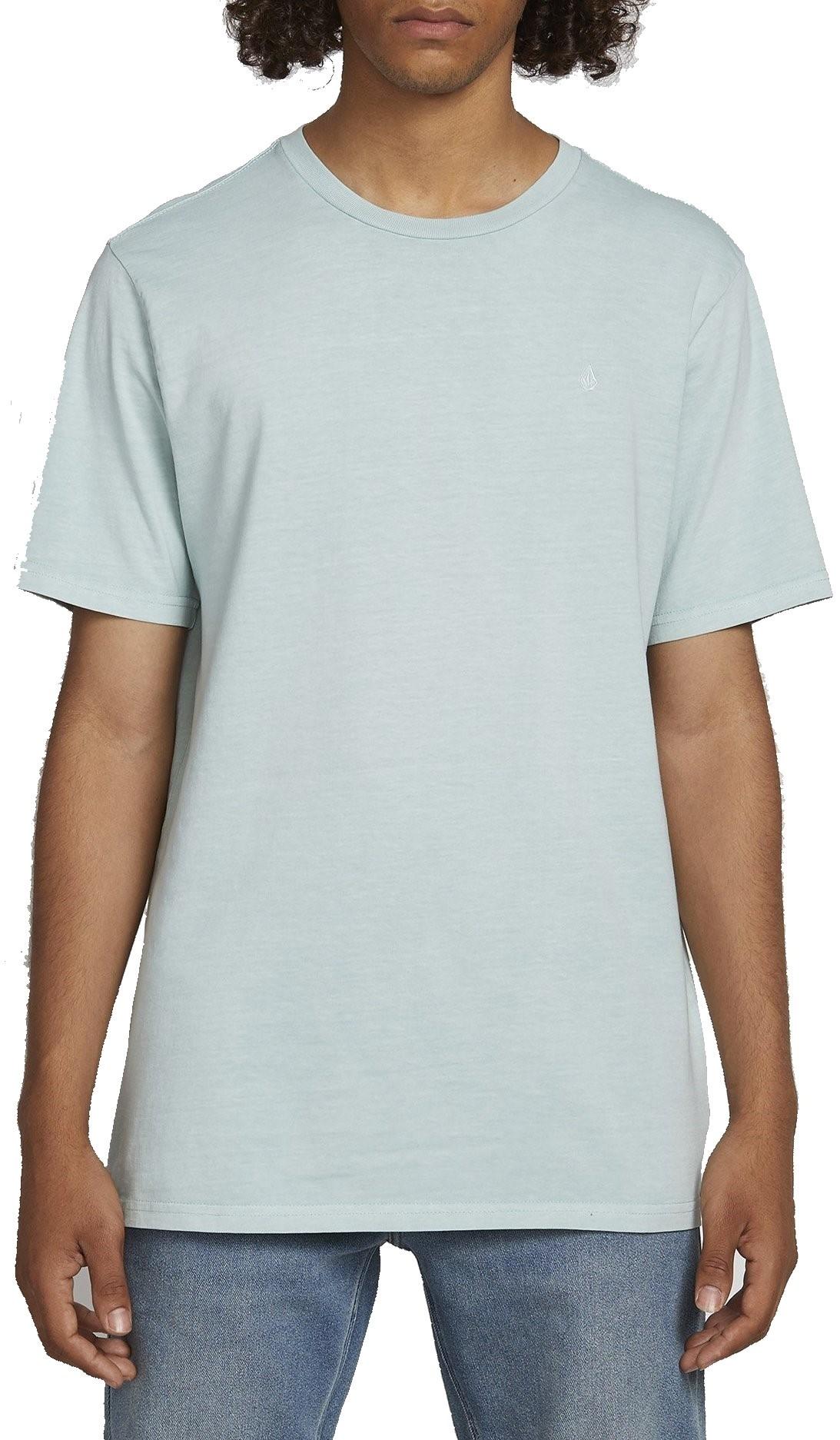 VOLCOM Herren T-Shirt Solid Stone Sea Glass Blue