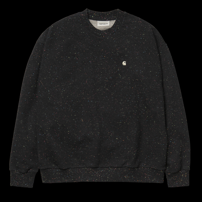 CARHARTT Damen Sweatshirt W´s Ava Sweat Black / Multicolor / Wax