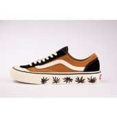 VANS Unisex Schuhe Style 36 Decon SF Pumpkin Spice / Antique White