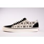 VANS Unisex Schuhe Old Skool 36 DX (ANAHEIMFCTY) Black / Black / White