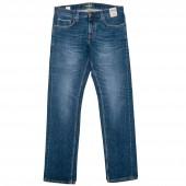 BLAUMANN Herren Jeans Schmal Stone Used Blue - Ökologisch nachhaltig - Made in Italy
