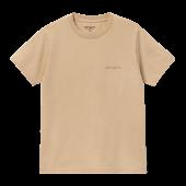 CARHARTT WIP Damen T-Shirt Mosby Script Dusty H Brown