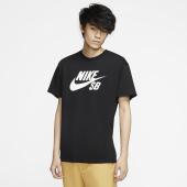 NIKE SB Herren T-Shirt Logo Black / White