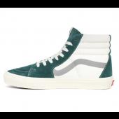 VANS Unisex Schuhe Sk8-Hi Mix & Match Antique White / Bistro Green