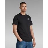 G-STAR Herren T-Shirt Badge Logo Dark Black