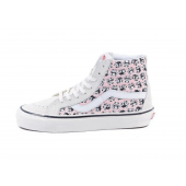 VANS Unisex Schuhe Sk8-Hi  38 DX (ANHMFCTY) Panda / White / Pink