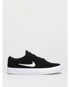 Nike SB Unisex Schuhe Charge Suede (GS) Black / Photon Dust - Black