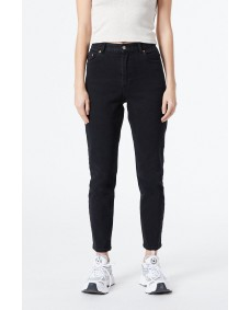 DR. DENIM Damen Hose Nora Washed Black Stretch