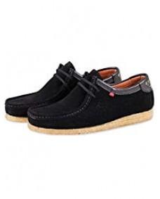 GENESIS Herren Schuhe Low Black