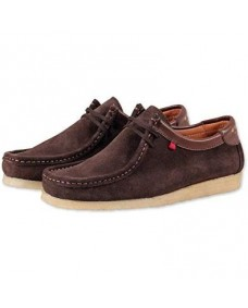 GENESIS Herren Schuhe Low Dark Brown