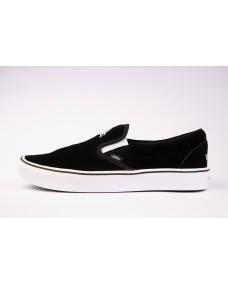 VANS Unisex Schuhe ComfyCush Slip-On (SIXTY SIXERS) Black / True White