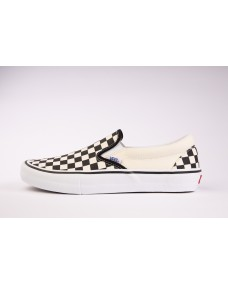 VANS Unisex Schuhe Slip-On Pro (Checkerboard) Black / White