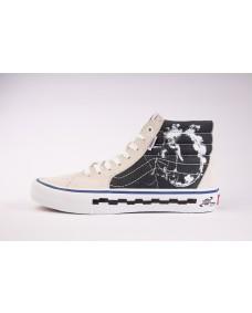 VANS Unisex Schuhe Sk8-Hi Pro (BMX '79) Marshmallow / Black