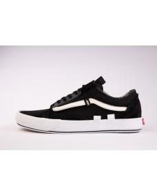 VANS Unisex Schuhe Old Skool CAP Black / True White