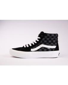 VANS Unisex Schuhe Sk8-Hi Pro (Reflective Checkerboard) Black / White