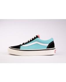 VANS Unisex Schuhe Old Skool 36 DX (ANAHEIMFCTY) OG Black / Blue / Pink