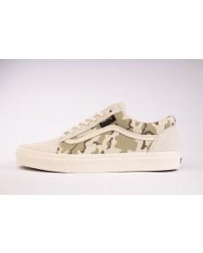 VANS Unisex Schuhe Old Skool (CORDURA) White Asparagus / Camo