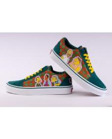 VANS Unisex Schuhe Old Skool (THE SIMPSONS) Moe's