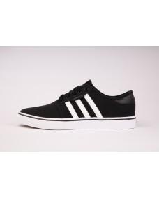 ADIDAS Herren Schuhe Seeley Black / White / Gum