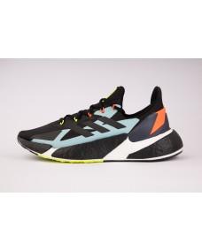 ADIDAS Herren Schuhe X9000L4 M Core Black / Solar Red