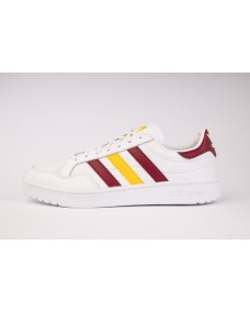 ADIDAS Unisex Schuhe Team Court White / Burgundy