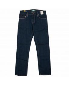 BLAUMANN Herren Jeans Schmal Blue Rinsed - Ökologisch nachhaltig - Made in Italy