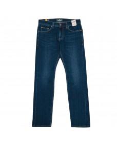 BLAUMANN Herren Jeans Schmal Dark Blue Used - Ökologisch nachhaltig - Made in Italy