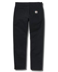 CARHARTT Herren Jeans Pontiac Pant Black Aged Canvas