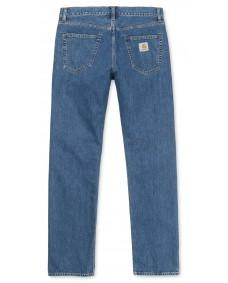 CARHARTT Herren Hose Pontiac Pant Blue Stone Washed