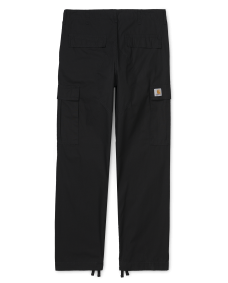 CARHARTT Herren Hose Regular Cargo Pant Black Rinsed