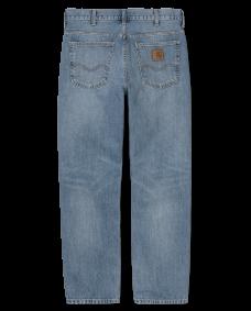 CARHARTT WIP Herren Jeans Marlow Pant Blue worn bleached