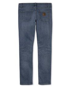CARHARTT Herren Jeans Rebel Pant Blue mid worn wash