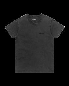 CARHARTT WIP Damen T-Shirt Mosby Script Black