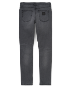 CARHARTT WIP Herren Jeans Rebel Pant Black worn bleached