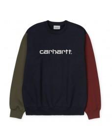 CARHARTT WIP Herren Sweatshirt Tricol Dark Navy