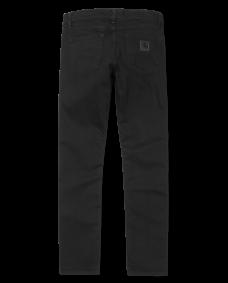 CARHARTT WIP Herren Jeans Rebel Pant Black rinsed