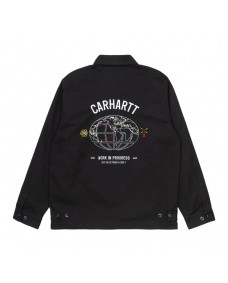 CARHARTT WIP Herren Work Jacke Cartograph Black
