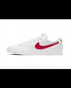 NIKE SB Herren Schuh BLZR Court White / Universary Red-White