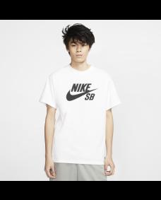 NIKE SB Herren T-Shirt Logo White / Black
